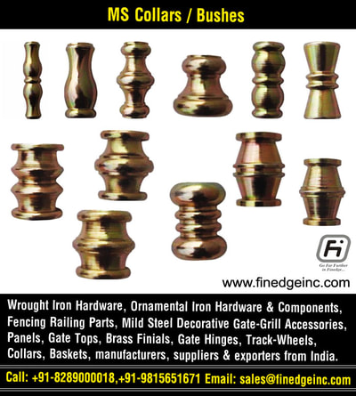 wrought iron railings and hardware parts manufacturers exporters suppliers India http://www.finedgeinc.com +91-8289000018, +91-9815651671