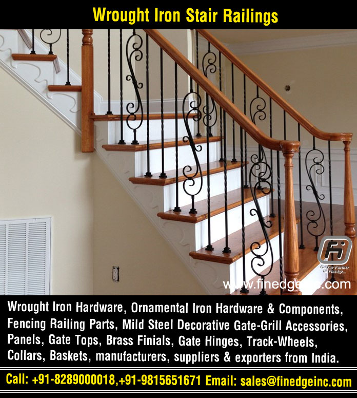 Decorative Wrought Iron And Ornamental Iron Components